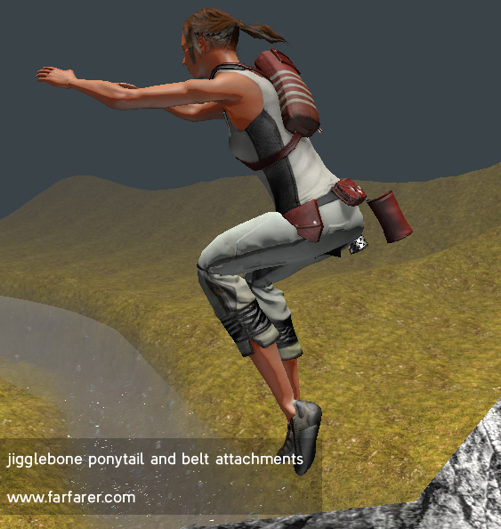 Jiggle Bones in Unity3D